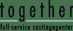 together casting logo